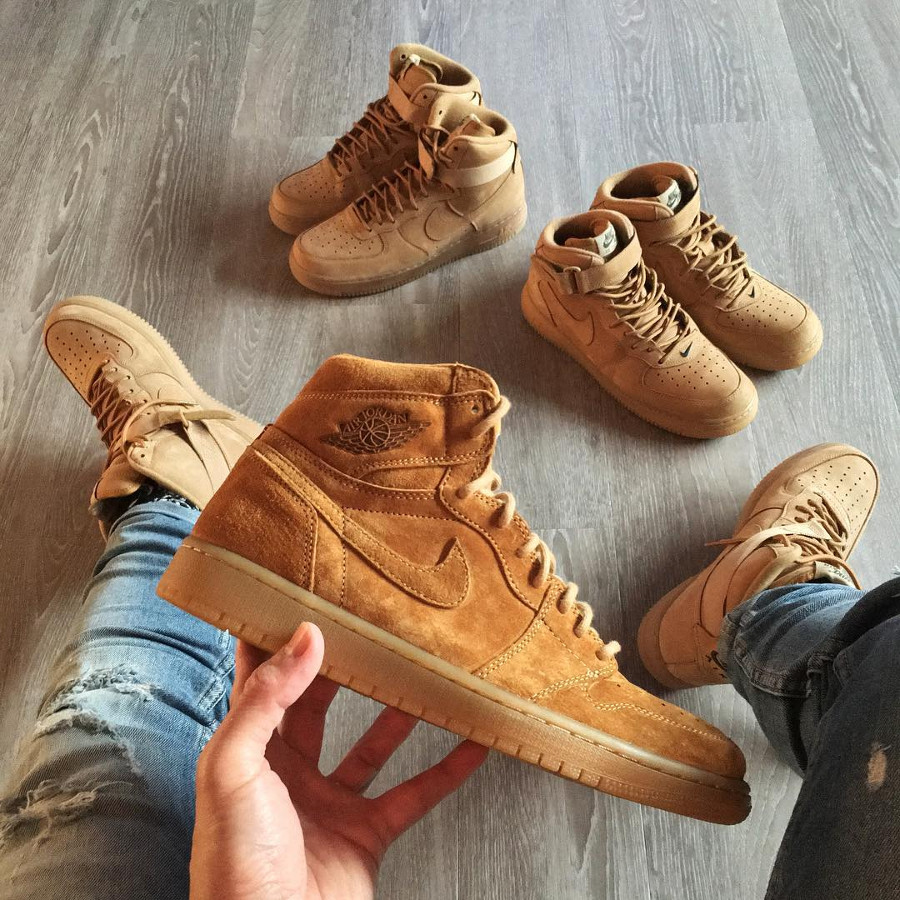 Air Jordan 1 Retro Wheat - @benjjii