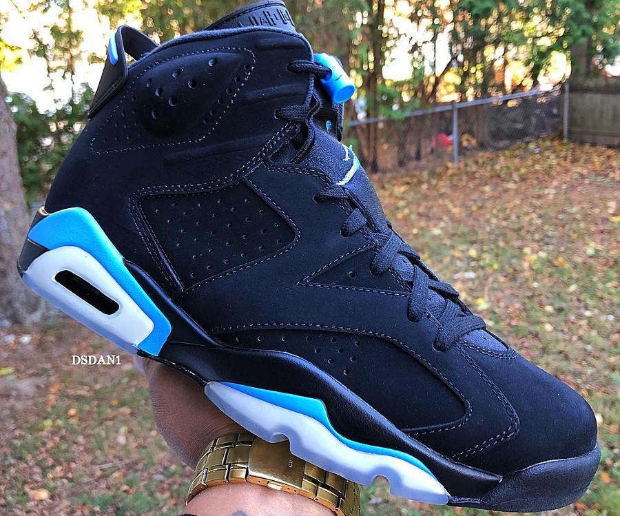 Air Jordan 6 Retro Black University Blue (1)