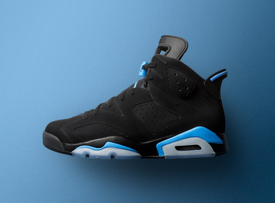 Air Jordan 6 Retro Black University Blue