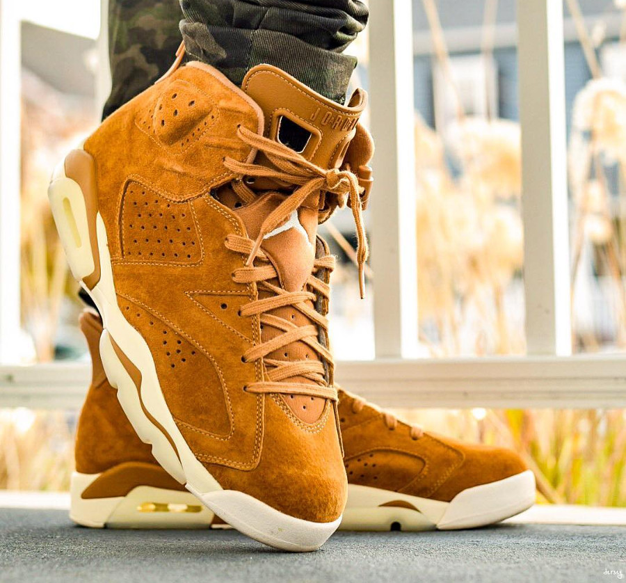 Air Jordan 6 Retro Golden Harvest - @str8outtajersey3