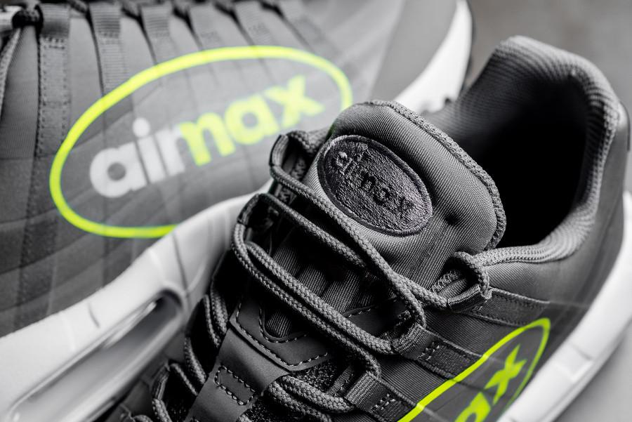 Basket Nike Air Max 95 NS GPX Big Logo Dark Pewter Volt AJ7182 001 (3)