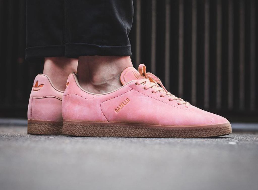 Chaussure Adidas Gazelle Decon Suede 'Tactile Rose' (Stripeless) homme