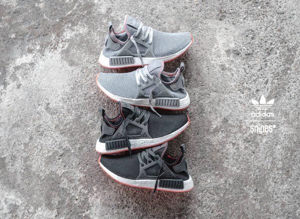 Adidas NMD XR1 'Contrast Stitch' Solar Red