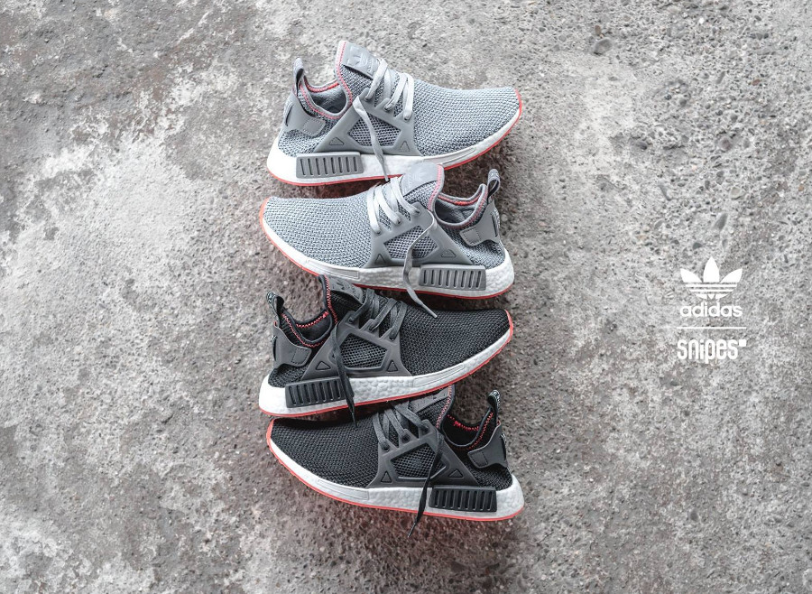 Chaussure Adidas NMD XR1 'Contrast Stitch' (semelle rouge)
