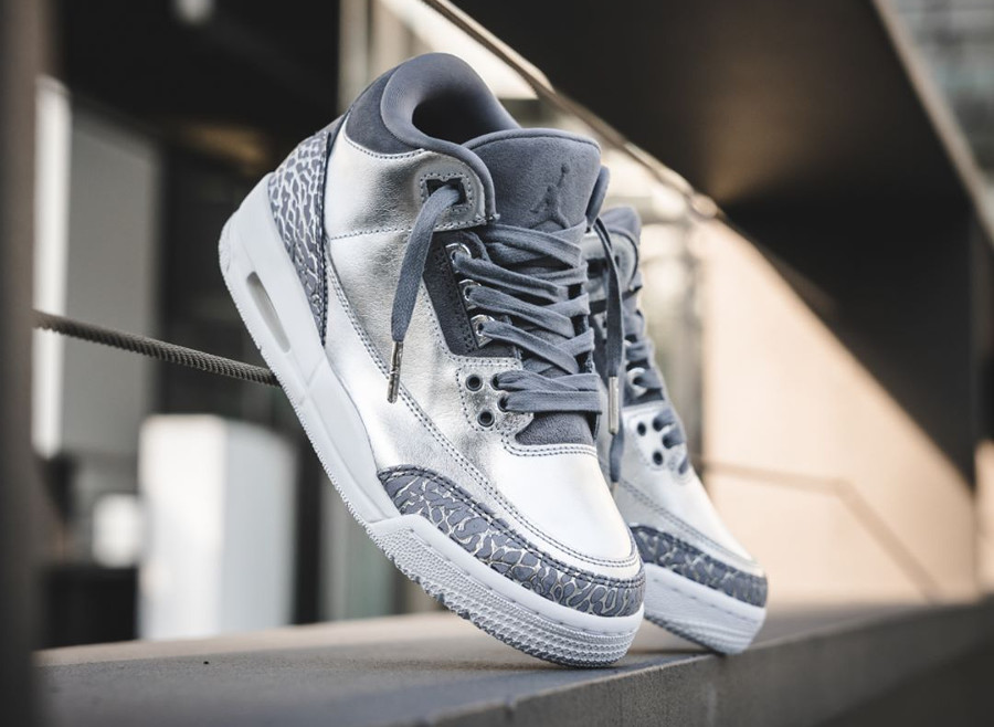 Air Jordan 3 Retro Premium 'Chrome'