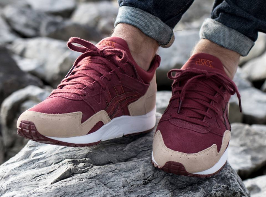 Chaussure Asics Gel-Lyte V 5 Suede 'Russet Brown'