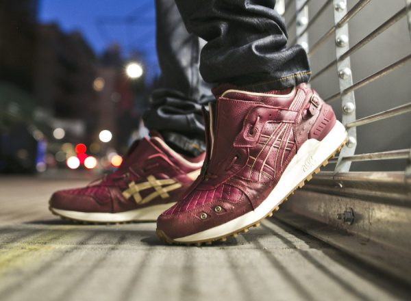 Chaussure Ghostface Killah x Asics Gel Lyte 3 MT Zip 'Pretty Toney'