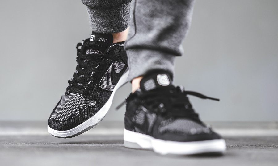 Chaussure Medicom x Nike SB Dunk Elite 'Bearbricks' Black Denim