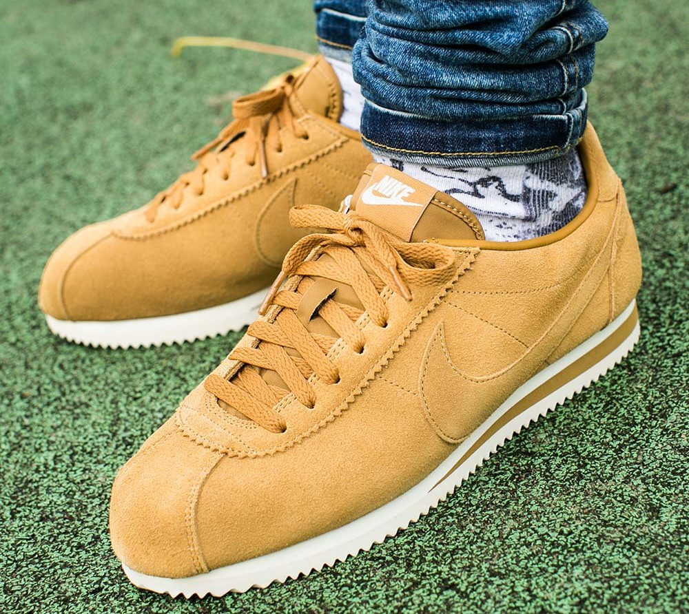 Chaussure Nike Cortez Suede SE Wheat Flax (marron)