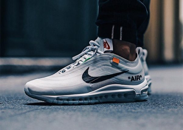 Chaussure Off White x Nike Air Max 97 Blanche 'The Ten 10X'