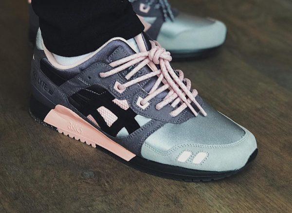 Chaussure Woei x Asics Gel Lyte 3 III 'Vintage Nylon' Apricot Nectar