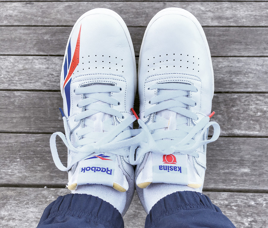 Kasina x Reebok Work Out Lo Clean - @yoshinori_sando