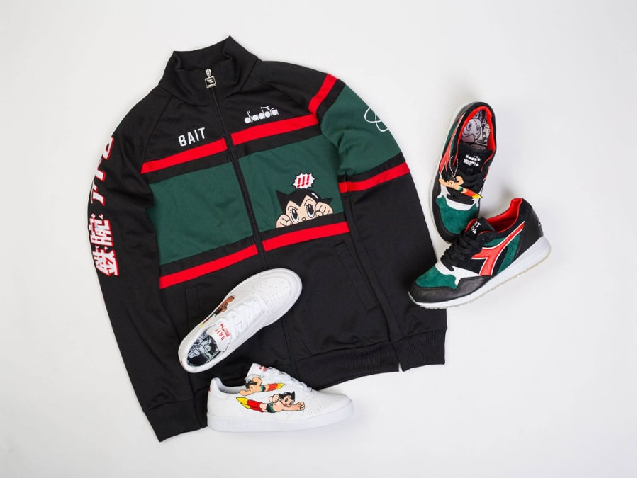 La collection Bait x Astro Boy x Diadora (1)