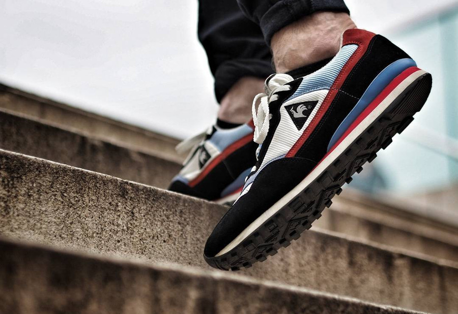 Le Coq Sportif Zenith Black Optical White - @highlyakicktive