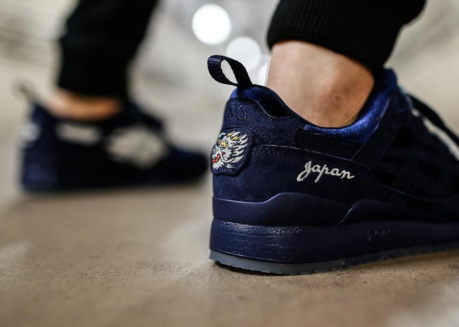 Mita Sneakers x Beams x Asics Gel Lyte 3 Souvenir Jacket - @toshisneakerstokyo