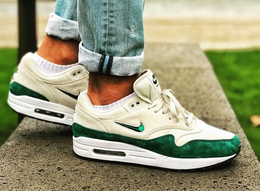 Nike Air Max 1 Jewel Atomic Teal - @dopepattas