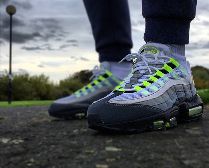 Nike Air Max 95 Neon - @pugsandkicks