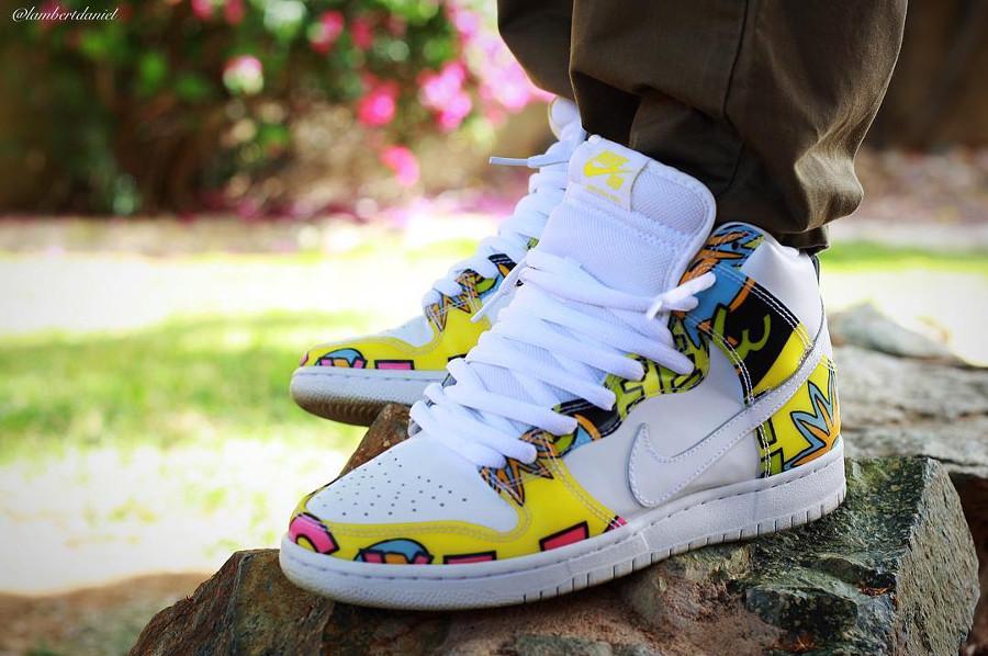 Nike Dunk High SB De La Soul - @lambertdaniel