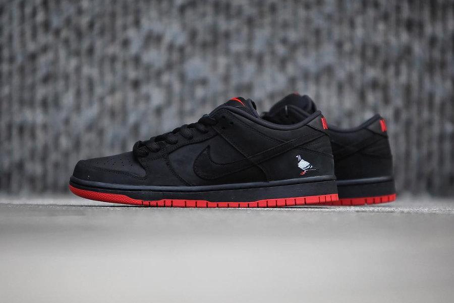Nike Dunk Low Pro SB 'Black Pigeon'