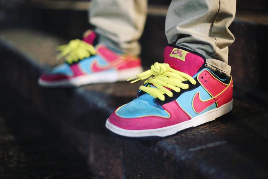 Nike Dunk Low Pro SB MRS Pacman - @dailydoseof_sb