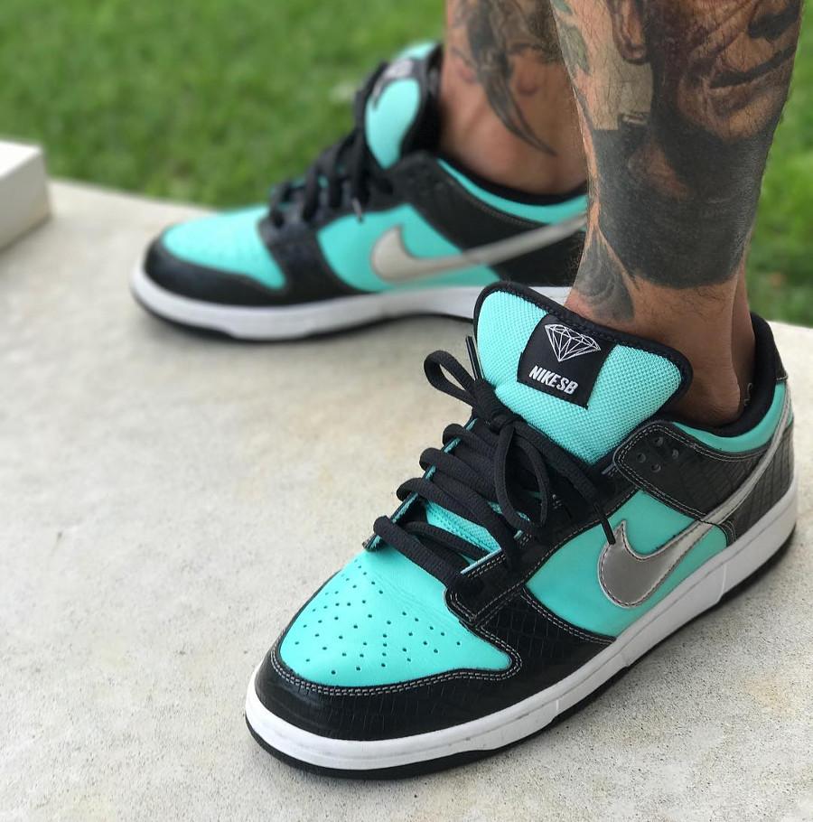 Nike Dunk Low SB Tiffany - @mikeyyymcflyyy