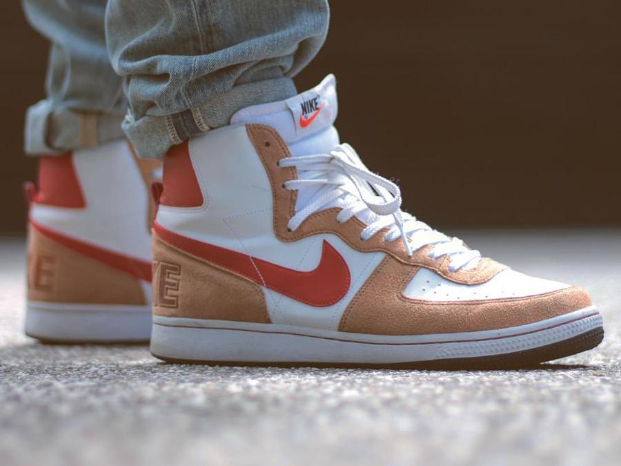 Nike Terminator White Khaki Red - @numbersnz