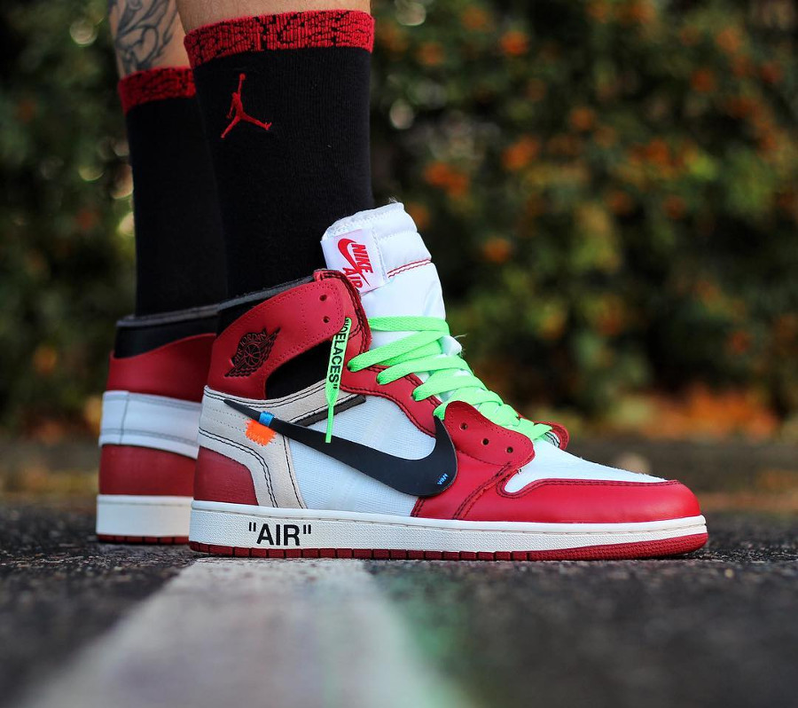 Off White x Air Jordan 1 High Chicago - @julien.frems.coach