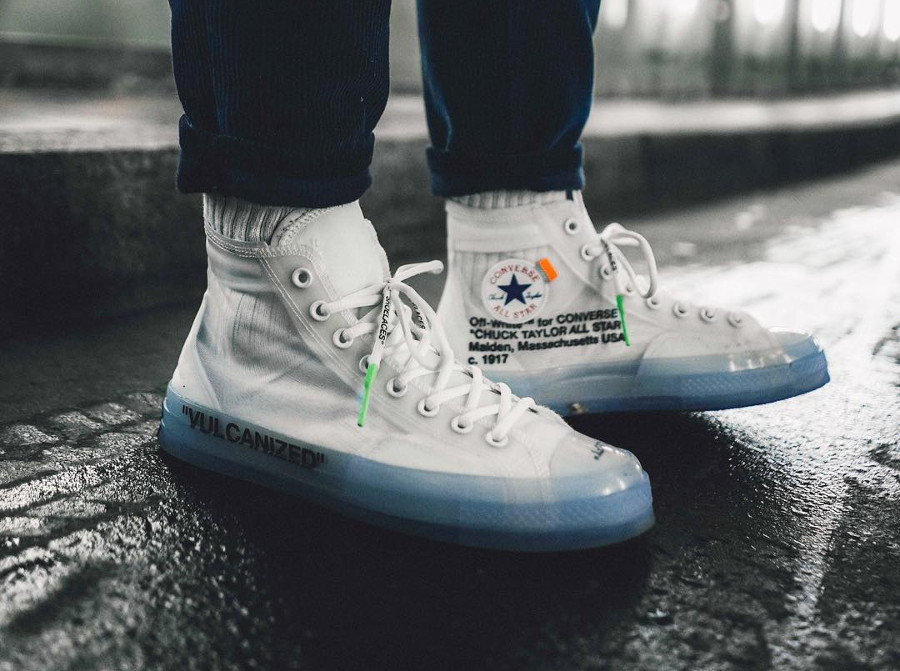 Off White x Converse All Star - @sizetenplease