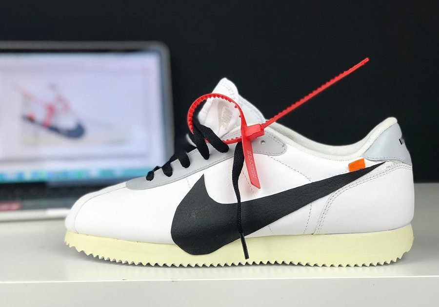Off White x Nike Cortez Revealing The Ten