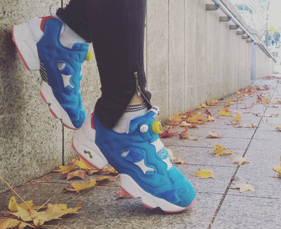 Packer Shoes x Reebok Insta Pump Fury Doraemon - @theindras