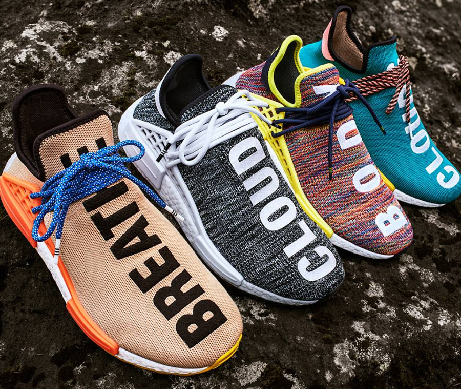 Pharrell Williams x Adidas NMD HU Trail