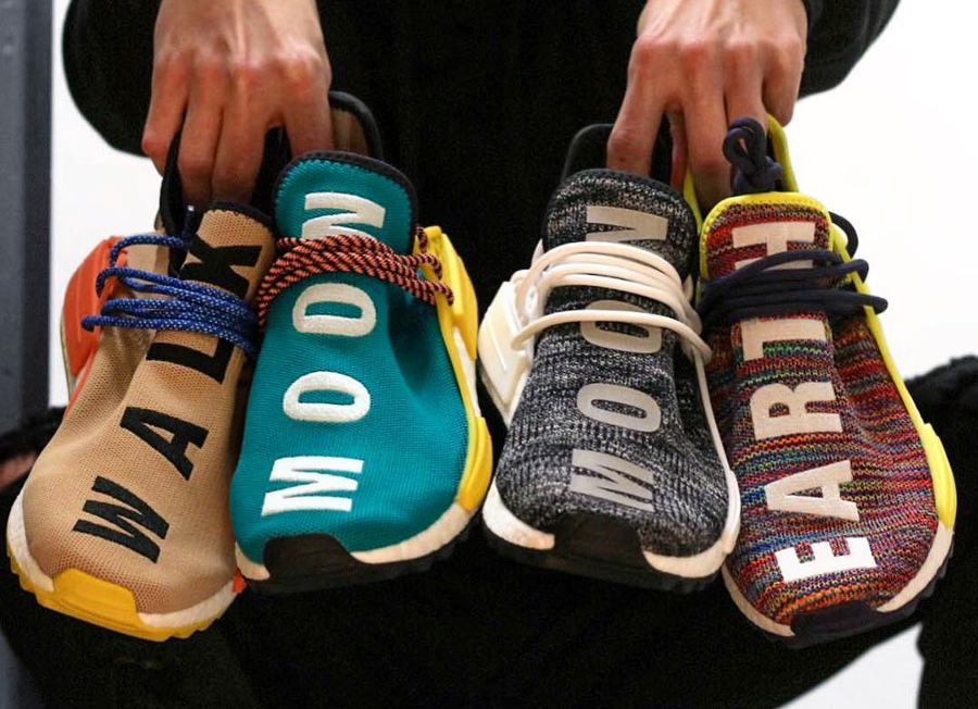 Clouds, Moon, Breathe, Earth : la culture outdoor en 4 Adidas NMD HU TR