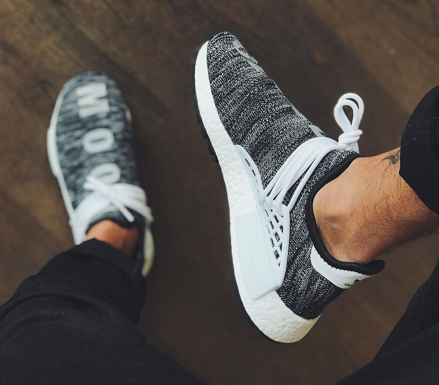 Pharrell Williams x Adidas NMD Hu Trail Oreo - @joeymichael08