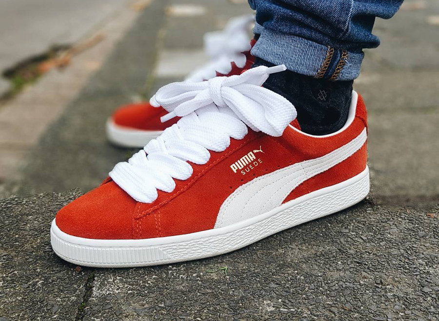 Puma Suede Red - @sneakophilo