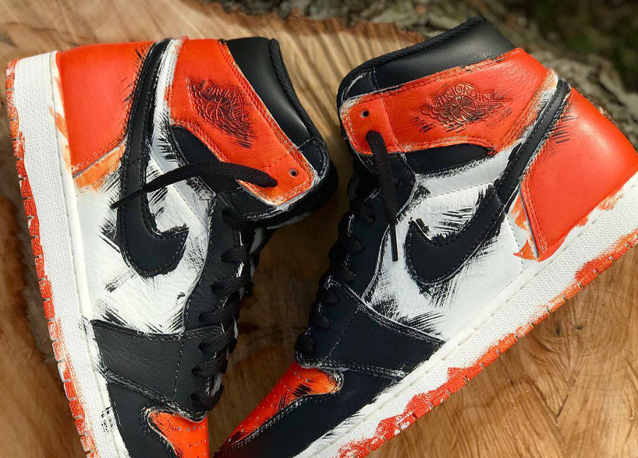 Air Jordan 1 High Retro 'Paintbrush'