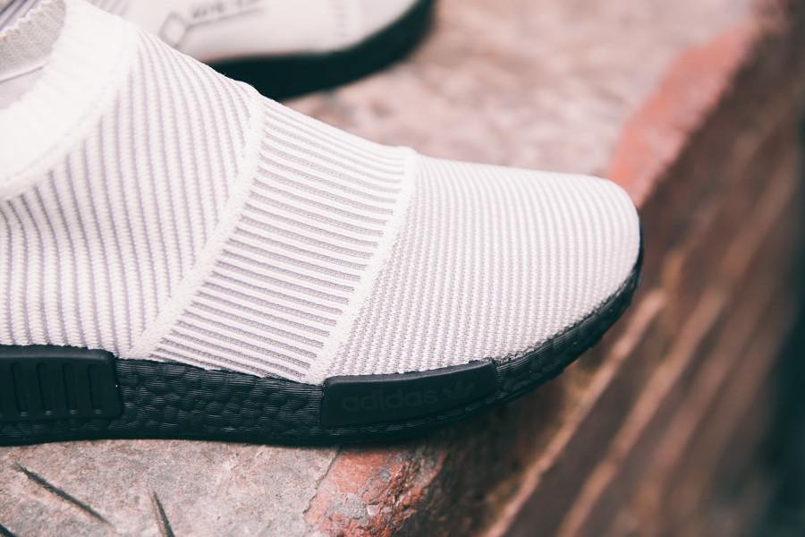 save off 1c335 f664a basket-adidas-nmd-cs1-gtx-primeknit-blanche-white-