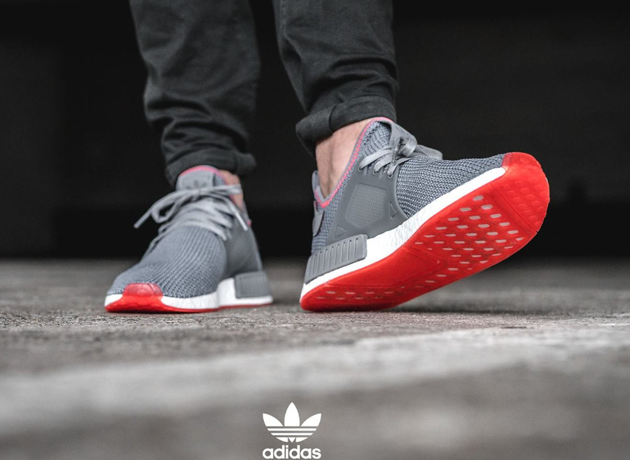 adidas Originals NMD XR1 Trainers In Grey BY9925 Grey porównaj