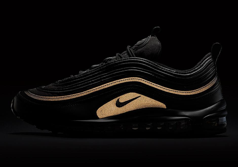 Où trouver la Nike Air Max 97 Premium SE Noire 'Black Gold