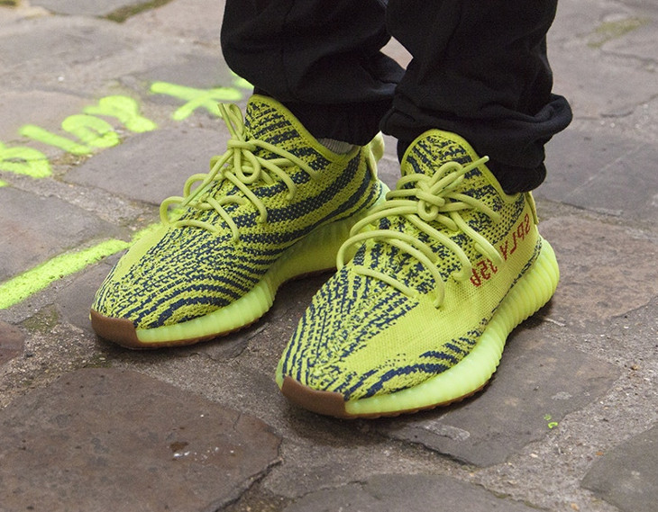 adidas yeezy yellow