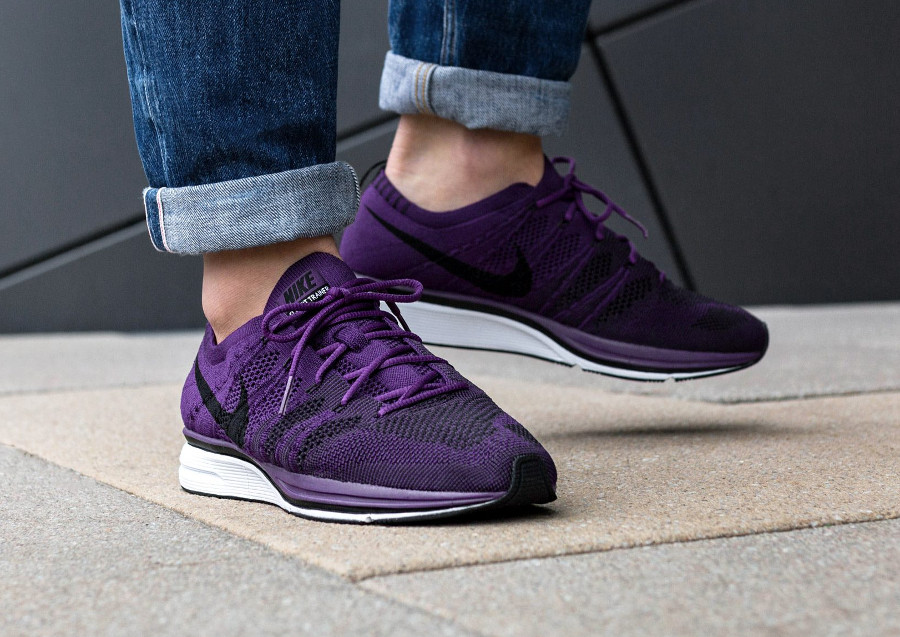 Nike Flyknit Trainer 'Night Purple'