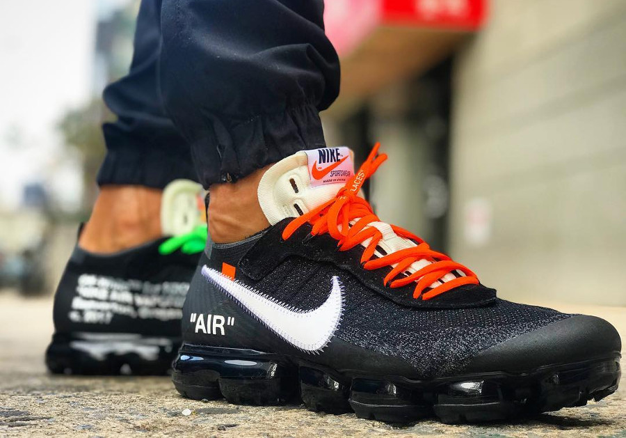 Off White x Nike Air Vapormax 'Revealing'