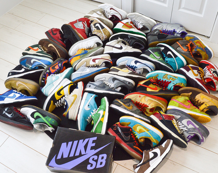 30 Nike Dunk SB qui ne manquent pas d'originalité (dossier spécial 15 ans)