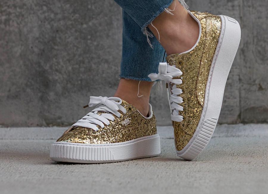 puma-basket-platform-glitter-dorée-gold-364093 02 (2)