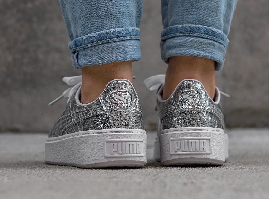 puma-basket-platform-glitter-silver-argentée-364093 01 (1)