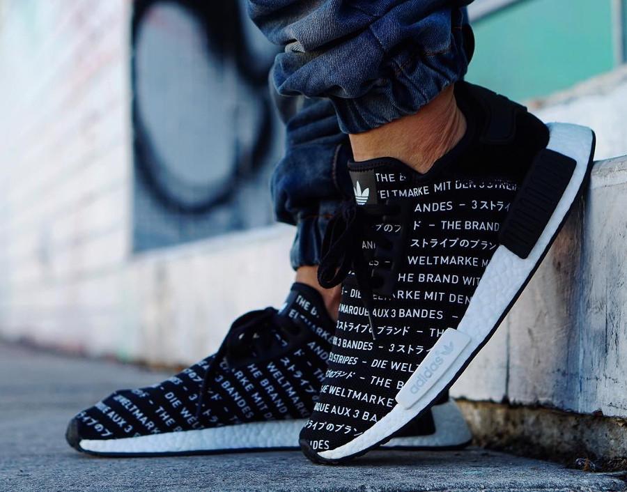 Adidas NMD R1 Blackout Three Stripes - @pr_sneaks23
