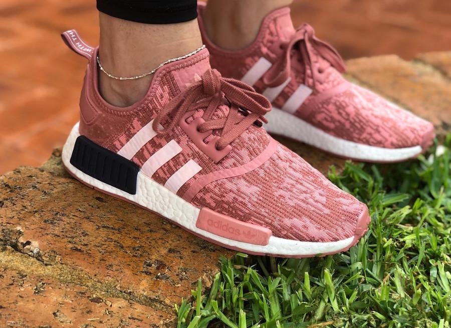 Adidas NMD R1 Digi Camo Raw Pink - @ren.kyzen