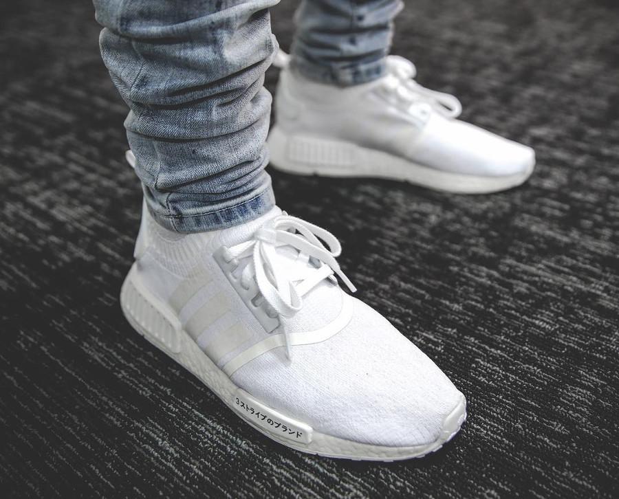 Adidas NMD R1 Japan Triple White - @jontimbre