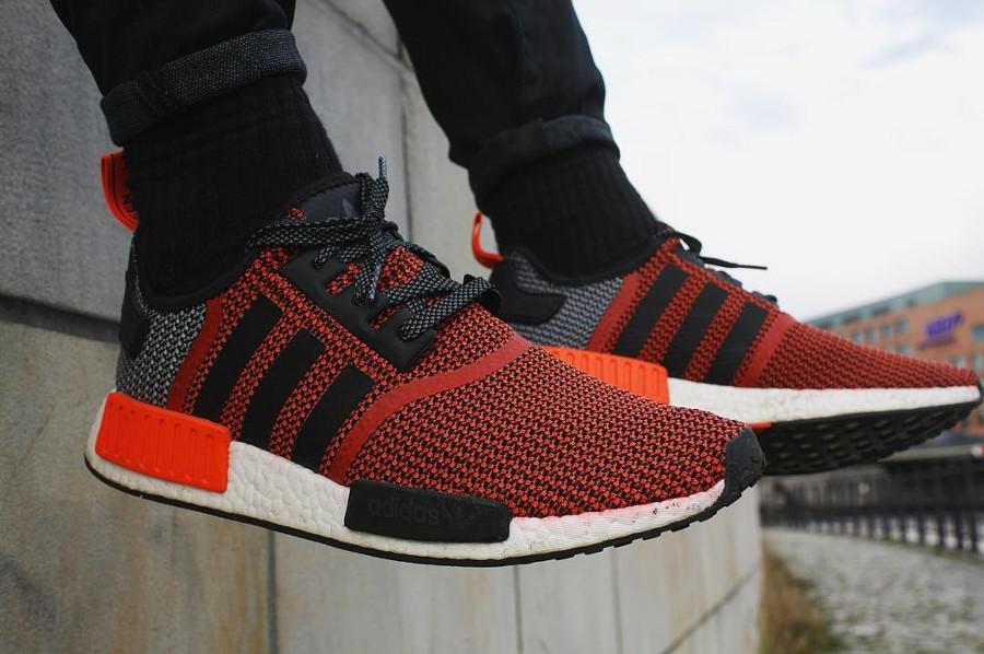 Adidas NMD R1 Mesh Lush Red - @sole.lab
