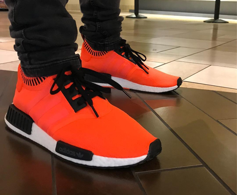 Adidas NMD R1 Orange Noise - @piraterobot