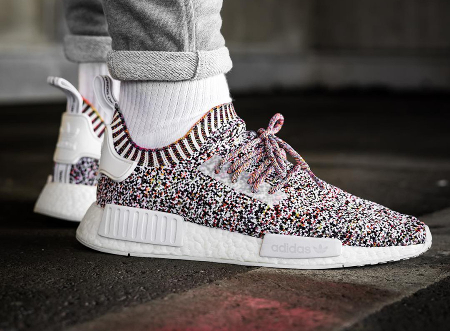 Adidas NMD R1 PK Color Static - @sbezzy22